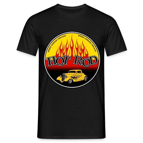 logo hot rod - Men's T-Shirt