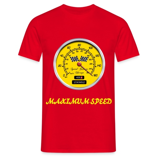 maximum speed - Men's T-Shirt