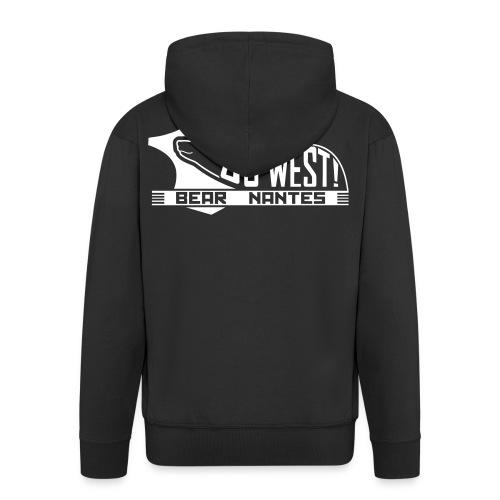 go west bear nantes - Veste à capuche Premium Homme