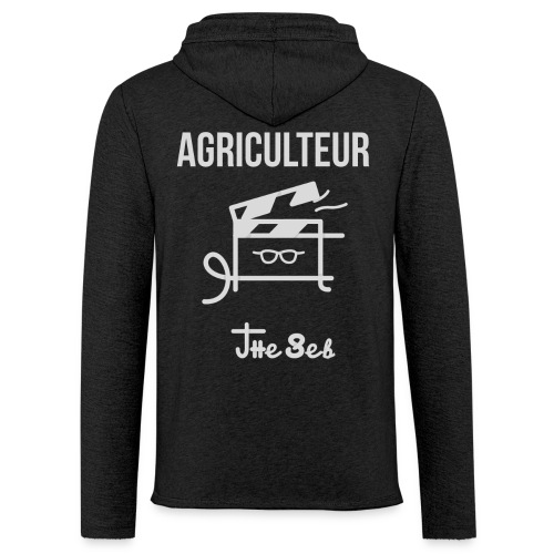 Sweat-Shirt Léger - AGRICULTEUR - Sweat-shirt à capuche léger unisexe