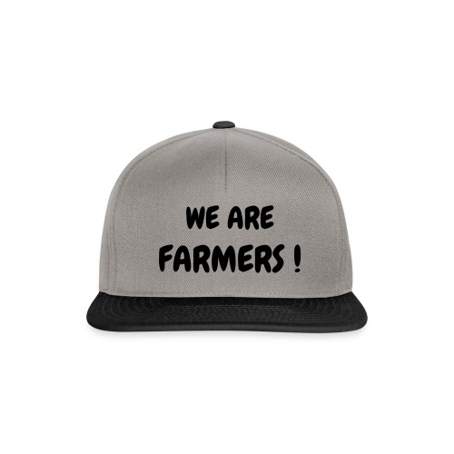 Casquette - WE ARE FARMERS ! - Casquette snapback