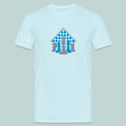 Männer-T-Shirt mit Figurengruppe - Männer T-Shirt