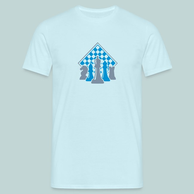 Männer-T-Shirt mit Figurengruppe