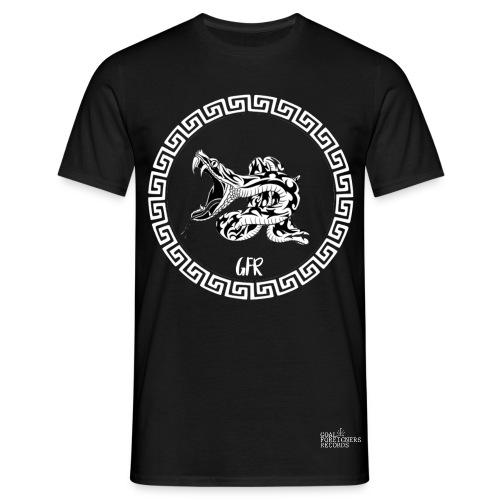 t Shirt GFR snake noir et blanc - T-shirt Homme