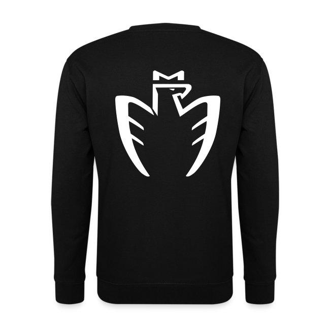 Sweatshirt Homme Logo blanc