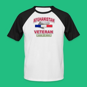 AFGHANISTAN VETERAN T - T-shirt baseball manches courtes Homme
