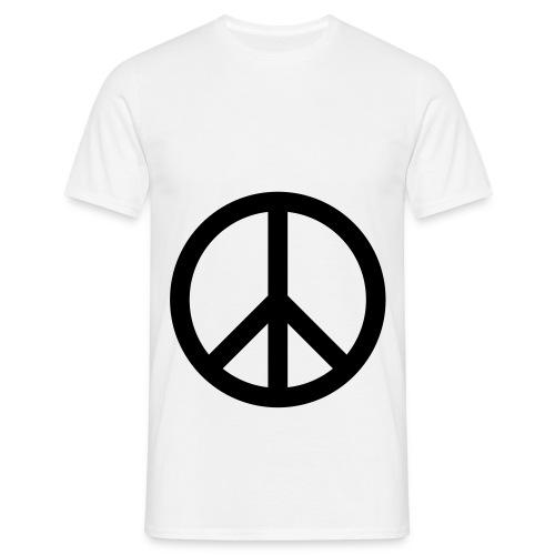drop beats not bombs tee - Men's T-Shirt