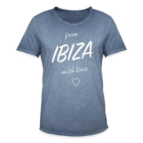 from Ibiza with love Men Shirt - Männer Vintage T-Shirt