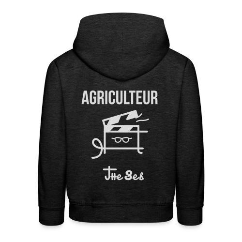 Sweat-Shirt Ados - AGRICULTEUR - Pull à capuche Premium Enfant