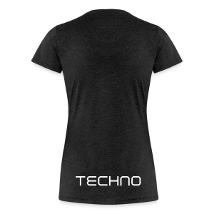 TECHNO GIRL - Frauen Premium T-Shirt