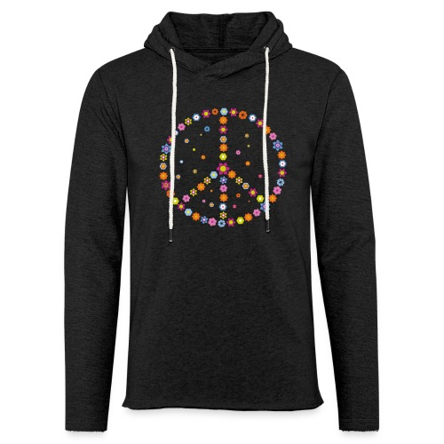 Peace in your Heart - Leichtes Kapuzensweatshirt Unisex