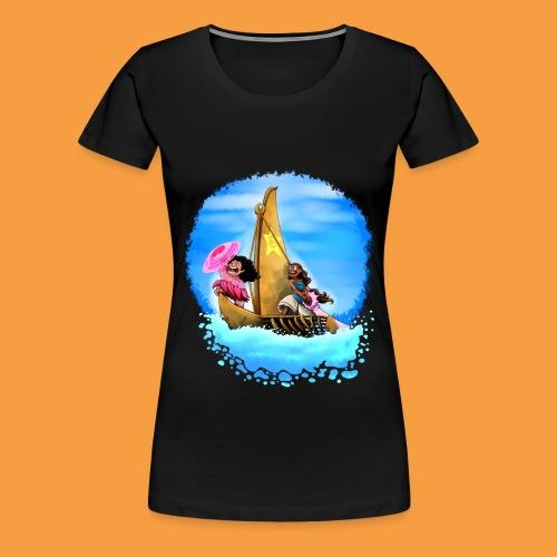 M+C-Wm blk - Frauen Premium T-Shirt