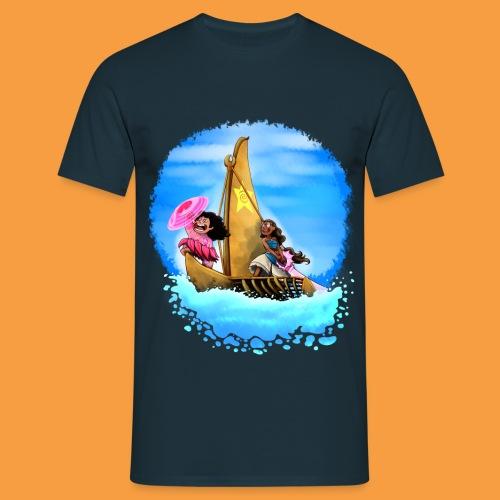 M+C-M blkblue - Männer T-Shirt