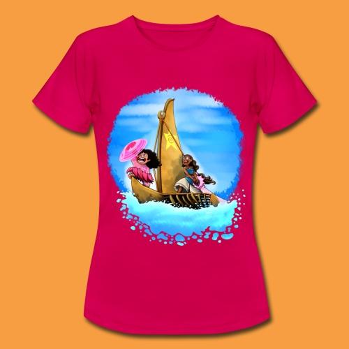 M+C-Wm lightteal - Frauen T-Shirt