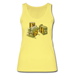 F-H-R-Container - Women's Organic Tank Top