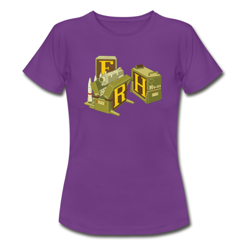 F-H-R-Container - Women's T-Shirt