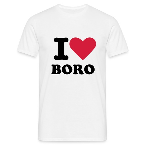 I Love Boro T-Shirt - Men's T-Shirt