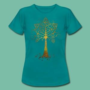 T-Shirt Femme Arbre Phare Brocéliande Spirit - T-shirt Femme