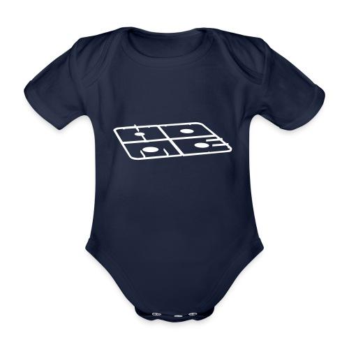The official Home by How Lilies Grow baby bodysuit - Baby bio-rompertje met korte mouwen