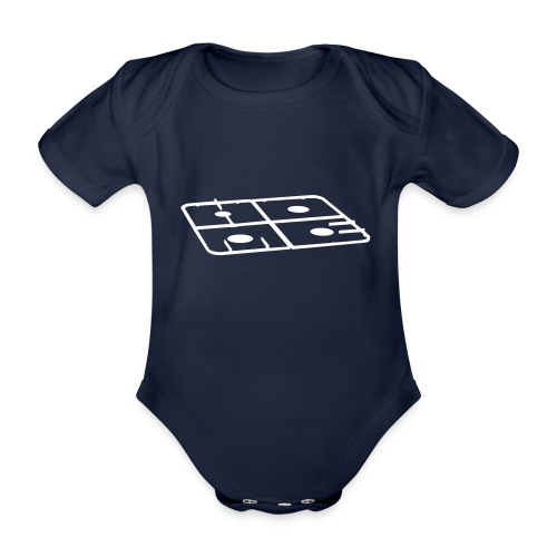 The official Home by How Lilies Grow baby bodysuit - Baby bio-rompertje met korte mouwen