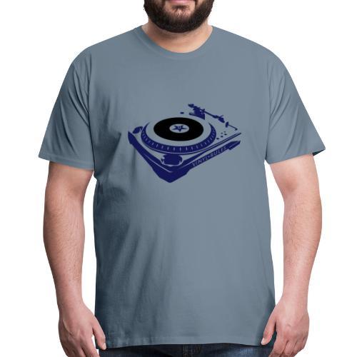 Vinyl rules - Männer Premium T-Shirt