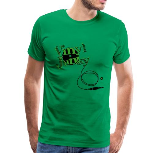 Vinyl Junky - Männer Premium T-Shirt