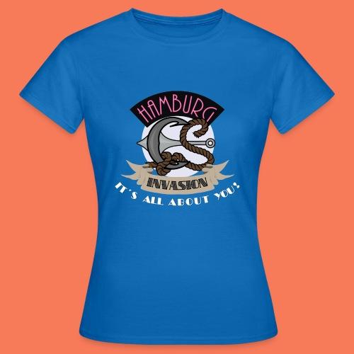 Hamburg Invasion - Women  - Frauen T-Shirt