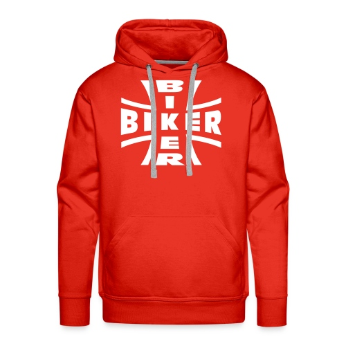Biker| sweat-shirts  biker - Sweat-shirt à capuche Premium pour hommes