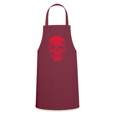 Bordeaux skull pirate death heavy metal  Aprons