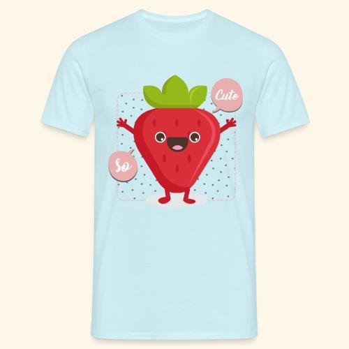 Tee Shirt Fraise So Cute - T-shirt Homme