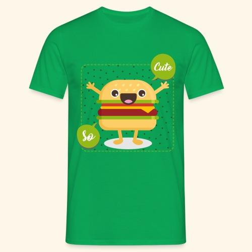 Tee Shirt Burger So Cute - T-shirt Homme