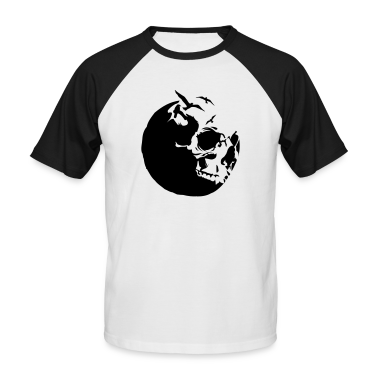 White/black killing moon skull mond Men's T-Shirts