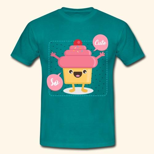 Tee Shirt Cupcake So Cute - T-shirt Homme