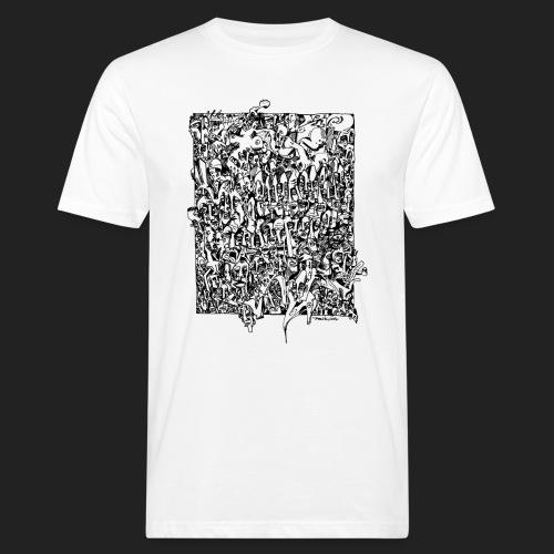 Fratzen No. 1 - Männer Bio-T-Shirt
