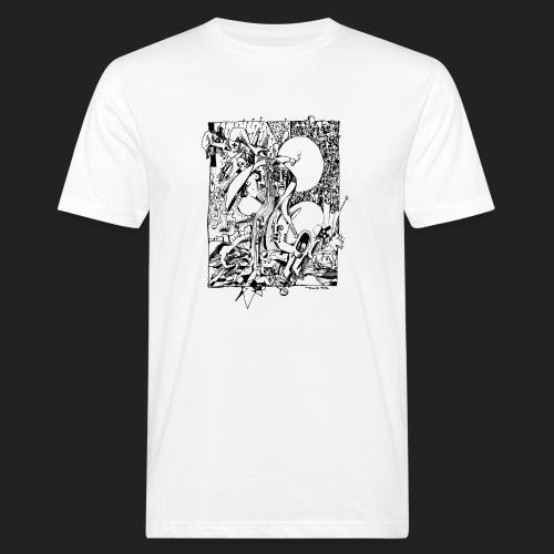 Fratzen No. 2 - Männer Bio-T-Shirt