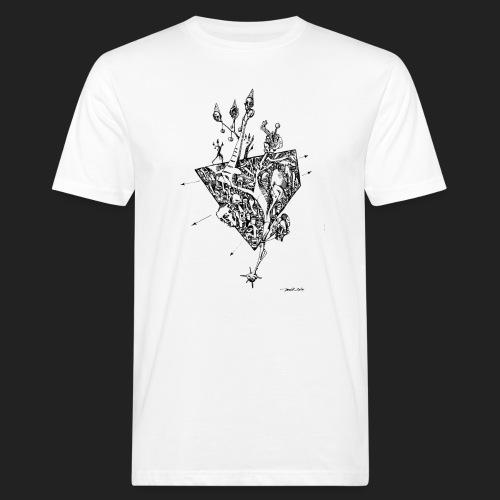 Fratzen No. 6 - Männer Bio-T-Shirt