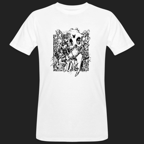 Fratzen No. 3 - Männer Bio-T-Shirt