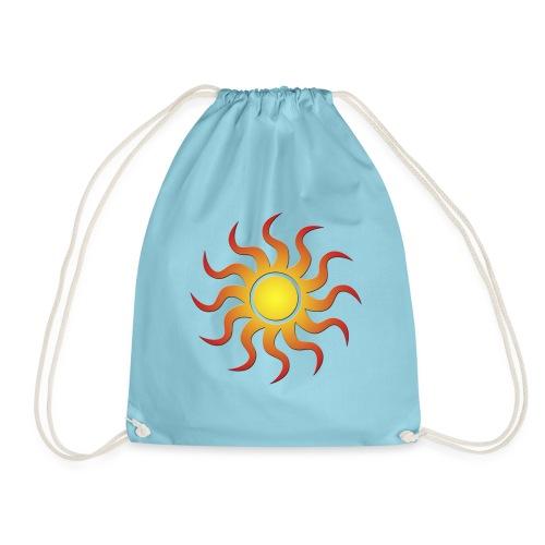 Sonnenmotiv - Turnbeutel