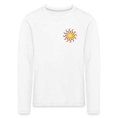 Sonnenmotiv - Kinder Premium Langarmshirt