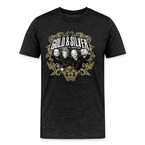 World Famous Gold & Silver Pawn Shop Stars - Men's Premium T-Shirt
