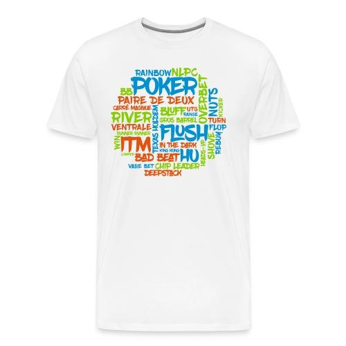 Joueur de poker affiche ta passion ! - T-shirt Premium Homme