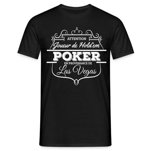 Joueur de poker affiche ta passion ! - T-shirt Homme