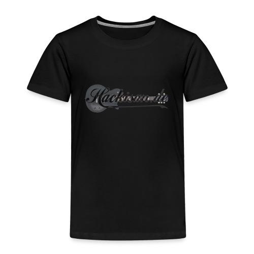 T-Shirt - Kinder - Hackisan-Logo - vorne - Kinder Premium T-Shirt