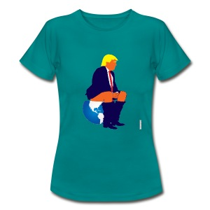 Trump Versus World - Women's T-Shirt