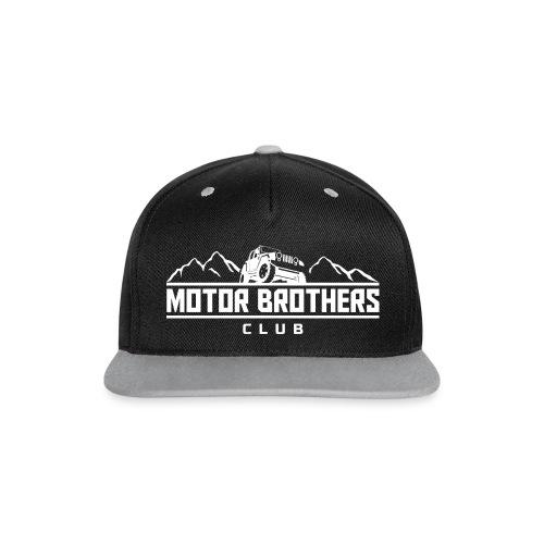 Club Cap - Kontrast Snapback Cap