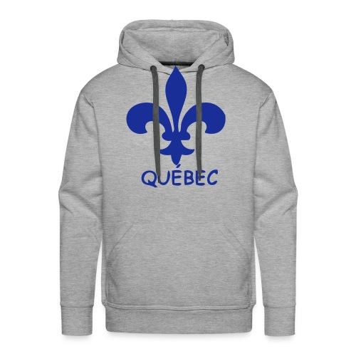 Sweat capuche Québec - Sweat-shirt à capuche Premium pour hommes