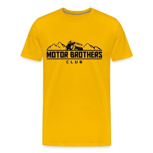 Shirt Mongolia Yellow (Men) - Männer Premium T-Shirt