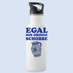 #FRANKFURT DESIGN - EGAL MIR DRINGE SCHOBBE #Bike - Trinkflasche