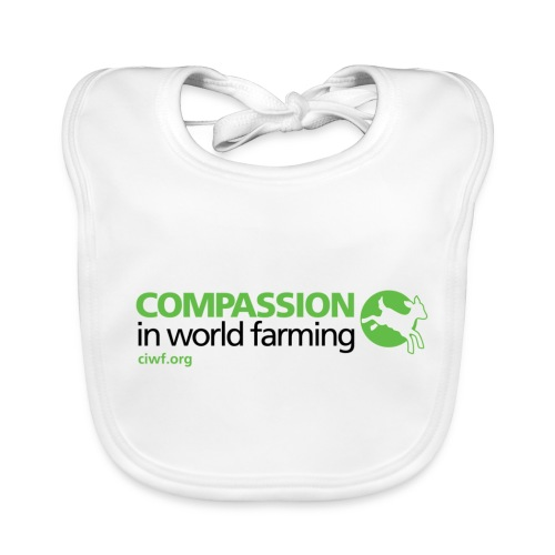 Compassion Logo Bib - Baby Organic Bib