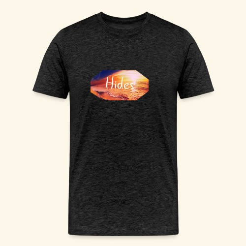 Hides Beach T-Shirt - Premium T-skjorte for menn